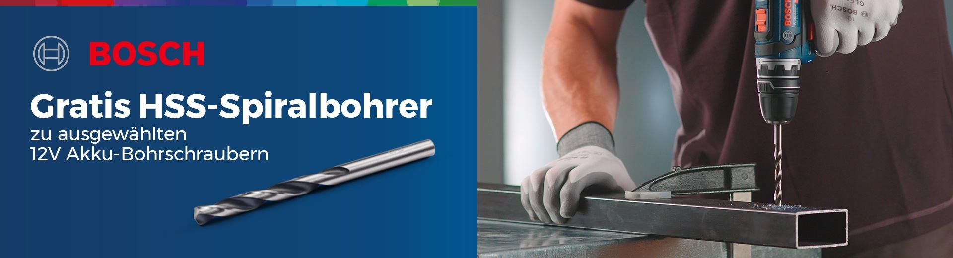 Bosch - Gratis Metallbohrer