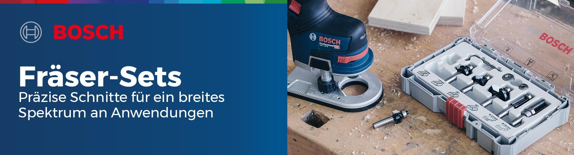 Bosch - Fräser-Sets