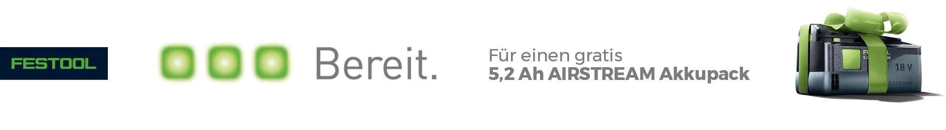 Festool - GRATIS* 18V Akkupack