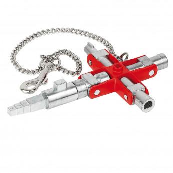 "Knipex universal-Schlüssel SubMaster ""Bau"" #001106V01"