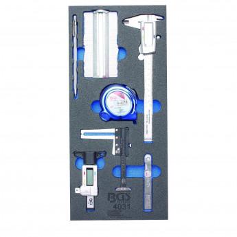 BGS 1/3 Werkstattwageneinlage: 7-tlg. Messwerkzeug-Satz - 4031