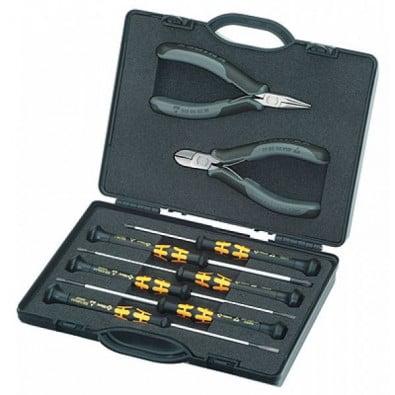 Knipex Elektronikzangen-Set 002018ESD