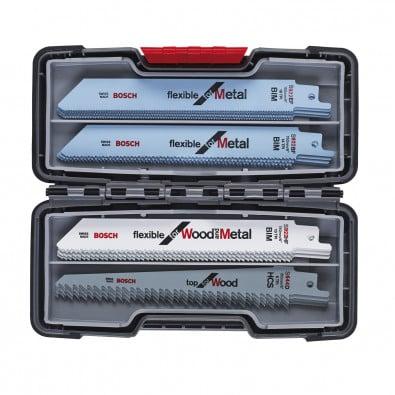 Bosch 20tlg. Säbelsägeblätter ToughBox Top Seller for Wood and Metal 2607010902