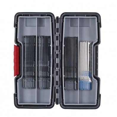 Bosch 40tlg. Stichsägeblätter ToughBox Top Seller for Wood and Metal 2607010904