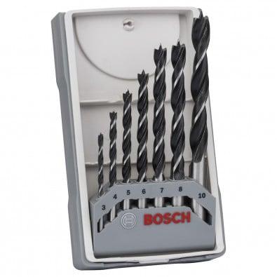 Bosch Holzbohrer-Set, 7tlg., 3 - 10 mm - 2607017034