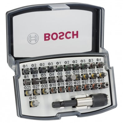 Bosch Bit Box Schrauberbit-Set 32tlg. mit Farbcodierung - 2607017319