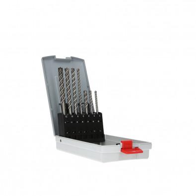Bosch Hammerbohrer SDS plus-7X-Set 7tlg. 5 / 6 / 8 x 115 mm 6 / 8 / 10 / 12 x 165 mm - 2607017502