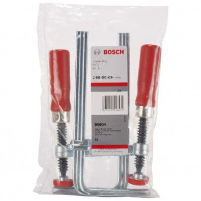 Bosch Schraubzwingenpaar für Führungsschiene - 2608000426