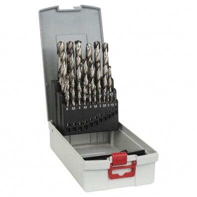 Bosch 25tlg. Metallbohrer-Set HSS-G DIN 338 in ProBox - 2608587017