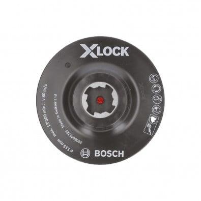 Bosch X-LOCK Stützteller 115 mm Klettverschluss - 2608601721