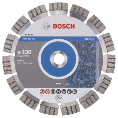 Bosch Diamanttrennscheibe Best for Stone, 230 x 22,23 x 2,4 x 15 mm -2608602645