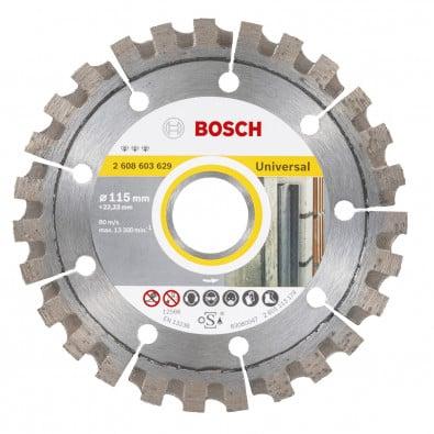 Bosch Diamanttrennscheibe Best for Universal, 115 x 22,23 x 2,2 x 12 mm -2608603629