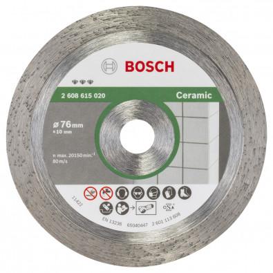 Bosch Diamanttrennscheibe Best for Ceramic 76x22,23 mm 2608615020