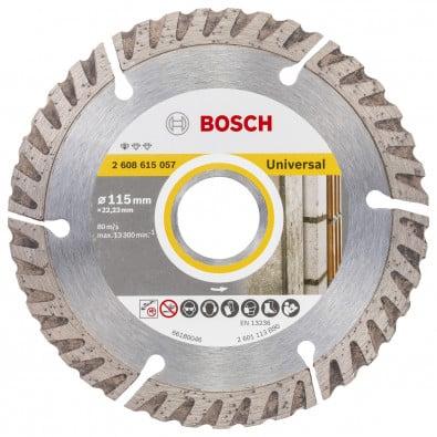 Bosch Professional Diamanttrennscheibe 115x22,23 Standard f. Universal - 2608615057