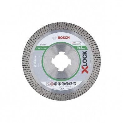 Bosch X-LOCK Diamanttrennscheibe Best for Hard Ceramic 115 x 22,23 x 1,4 x 10 mm - 2608615134