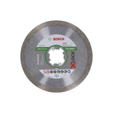 Bosch X-LOCK Diamanttrennscheibe Standard for Ceramic 115 x 22,23 x 1,6 x 7 mm - 2608615137
