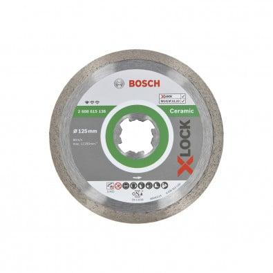 Bosch X-LOCK Diamanttrennscheibe Standard for Ceramic 125 x 22,23 x 1,6 x 7 mm - 2608615138