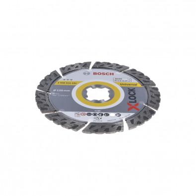Bosch X-LOCK Diamanttrennscheibe Best for Universal 125 x 22,23 x 2,2 x 12 mm - 2608615161