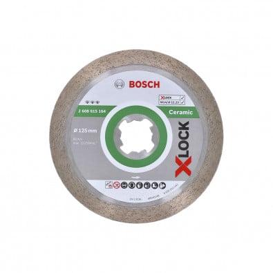 Bosch X-LOCK Diamanttrennscheibe Best for Ceramic 125 x 22,23 x 1,8 x 10 mm - 2608615164