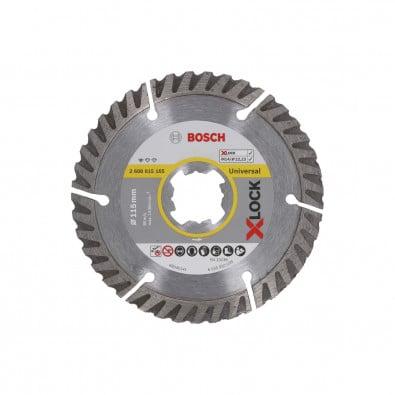 Bosch X-LOCK Diamanttrennscheibe Standard for Universal 115 x 22,23 x 2 x 10 mm - 2608615165