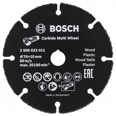 Bosch Trennscheibe Carbide Multi Wheel 76 mm - 2608623011