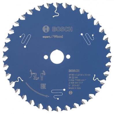 Bosch Kreissägeblatt Expert for Wood 160x20x2.2/1.6x36T - 2608644017