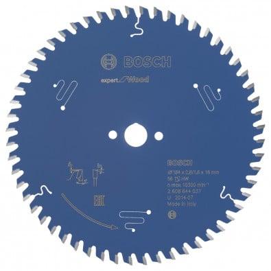 Bosch Kreissägeblatt Expert for Wood 184x16x2.6/1.6x56T - 2608644037