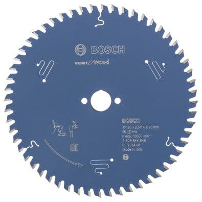 Bosch Kreissägeblatt Expert for Wood 190x20x2.6/1.6x56T - 2608644046