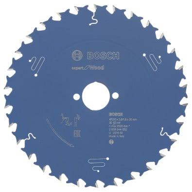 Bosch Kreissägeblatt Expert for Wood 200x30x2.8/1.8x30T - 2608644052