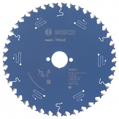 Bosch Kreissägeblatt Expert for Wood 210x30x2.4/1.8x40T - 2608644056