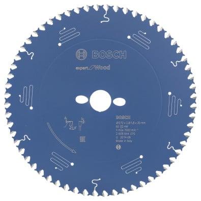 Bosch Kreissägeblatt Expert for Wood 270x30x2.8/1.8x60T - 2608644070