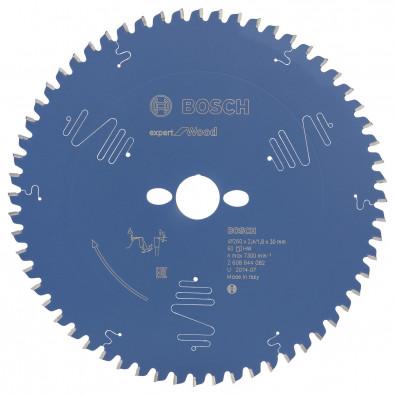 Bosch Kreissägeblatt Expert for Wood 260x30x2.4/1.8x60T - 2608644082
