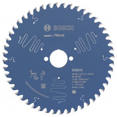 Bosch Kreissägeblatt Expert for Wood 190x30x2/1.3x48T - 2608644085