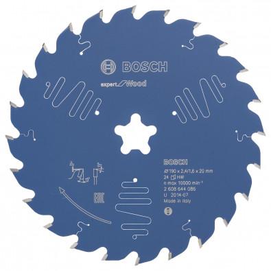 Bosch Kreissägeblatt Expert for Wood 190xFFx2.4/1.6x24T - 2608644086