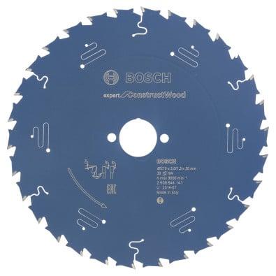 Bosch Kreissägeblatt Expert for Construct Wood 210x30x2/1.3x30T - 2608644141