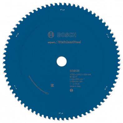 Bosch Kreissägeblatt Expert for Stainless Steel 305 x 25,4 x 2,5 / 2,2 mm 80 Zähne - 2608644284