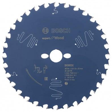 Bosch Kreissägeblatt Expert for Wood 254x30x2.6/1.8x32T - 2608644341