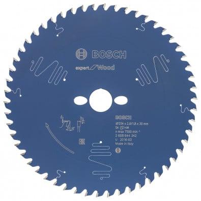 Bosch Kreissägeblatt Expert for Wood 254 x 30 x 2,6 mm 54 - 2608644342