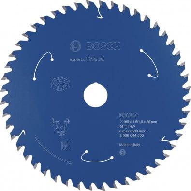 Bosch Kreissägeblatt Expert for Wood, 160x1,5/1x20, 48Zähne - 2608644505