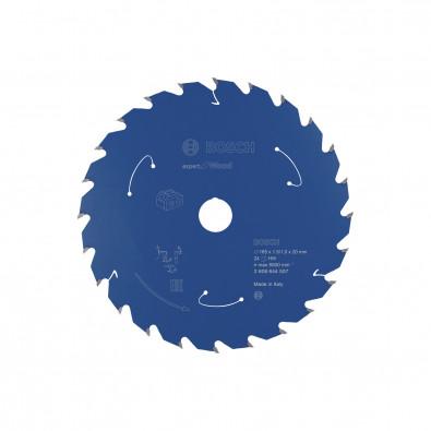 Bosch Kreissägeblatt Expert for Wood, 165x1,5/1x20, 24Zähne - 2608644507