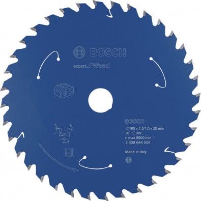 Bosch Kreissägeblatt Expert for Wood, 165x1,5/1x20, 36Zähne - 2608644508