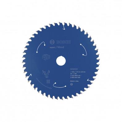 Bosch Kreissägeblatt Expert for Wood, 165x1,5/1x20, 48Zähne - 2608644509