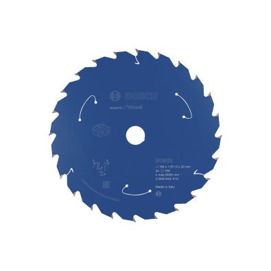 Bosch Kreissägeblatt Expert for Wood, 184x1,6/1x20, 24Zähne - 2608644510
