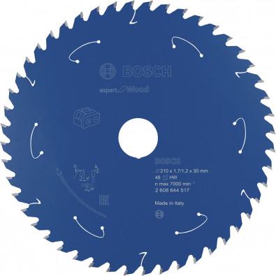 Bosch Kreissägeblatt Expert for Wood, 210x1,7/1,2x30, 48Zähne - 2608644517