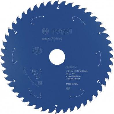 Bosch Kreissägeblatt Expert for Wood, 216x1,7/1,2x30, 48Zähne - 2608644521