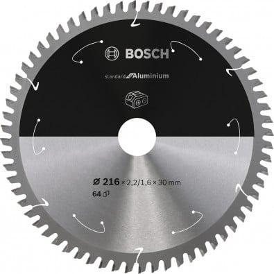 Bosch Kreissägeblatt Standard for Aluminium, 216x2,2/1,6x30, 64Zähne - 2608837776