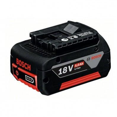 Bosch Akku GBA 18 Volt / 5,0 Ah Li-Ion M-C Professional - 1600A002U5 / 2607337070