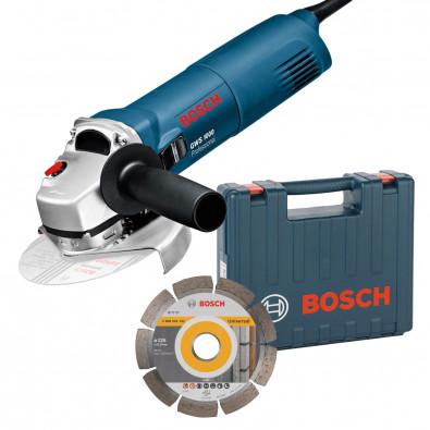 Bosch Winkelschleifer GWS1000 + Dia-Scheibe im Koffer | 0601828901