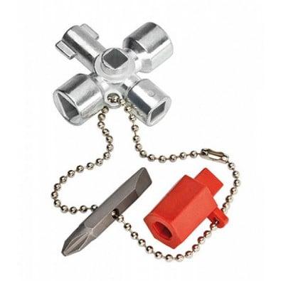 Knipex Schaltschrank-Schlüssel 001102 - 00 11 02
