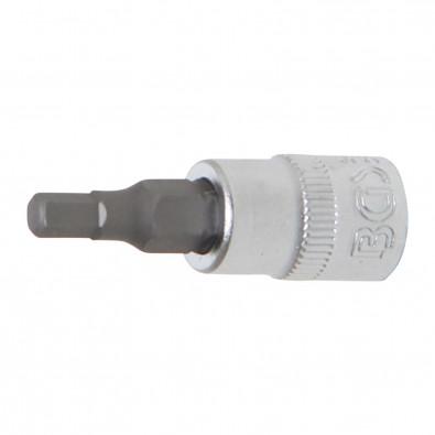 BGS Bit-Einsatz 6,3 (1/4) Innen-6-kant 4 mm - 2498